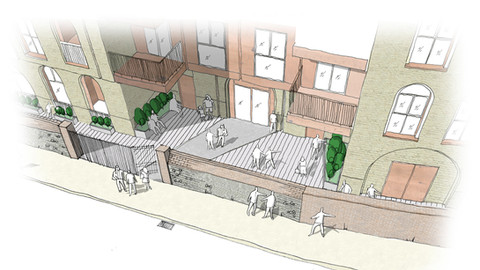 Abbey Wall Works - Mixed-Use Residential & Commercial Development