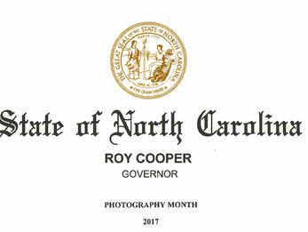 "North Carolina Designates October ""Photography Month"""