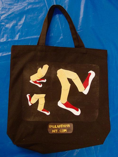 Hip-Hop Feet Tote
