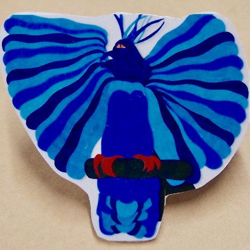 Female Bird of Paradise Pin