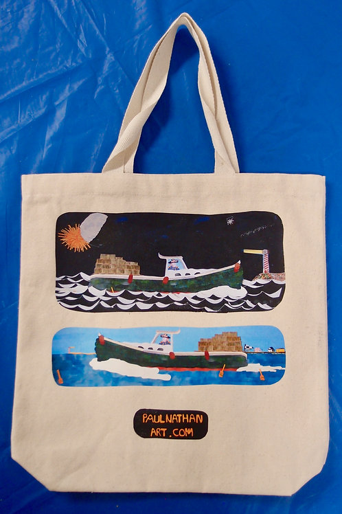 Lobster Boats Tote