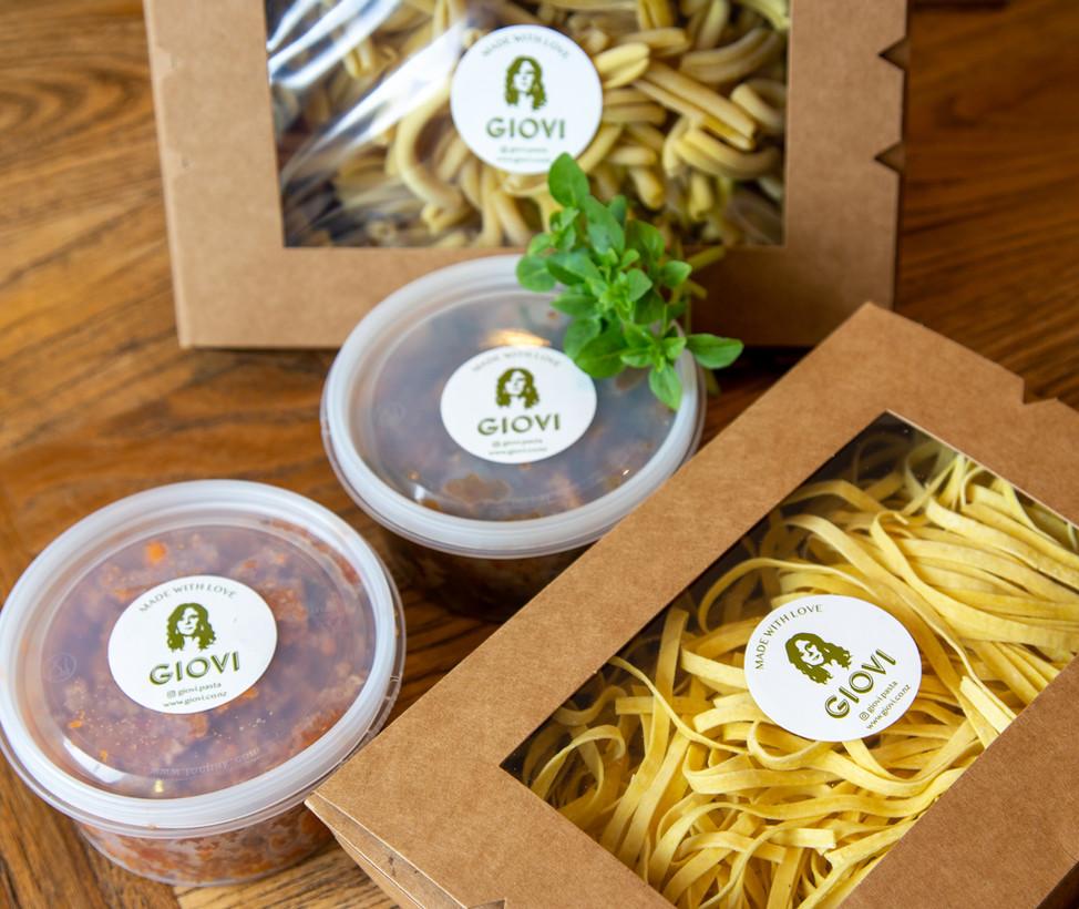 Giovi take away Bio Packaging
