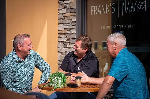 Frank's Market Safari Guys by Kristel Ma