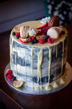 FRANKS PANTRY WEDDING CAKE BY KRISTEL MA