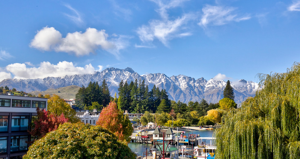 The Remarkables Mountain Range View