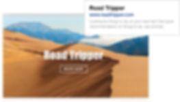 SEO для головної сторінки сайту подорожей Road Tripper.