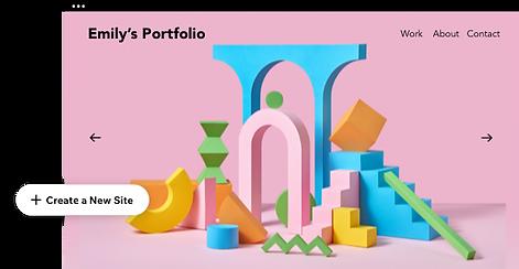 Protfolio website