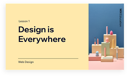 Design is everything presentation