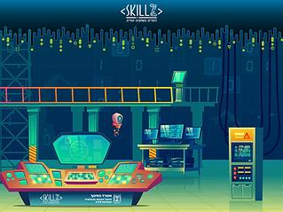 סקראצ בסביבת סקילז - במעבדת הרובוטים
