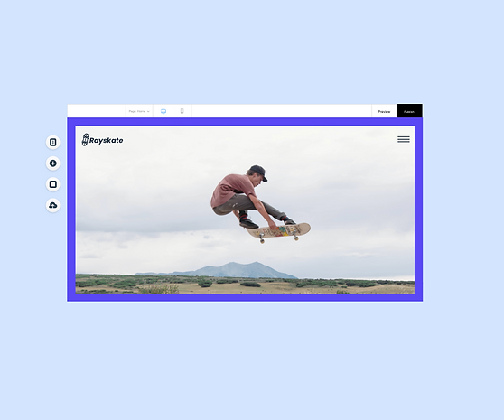Skater website