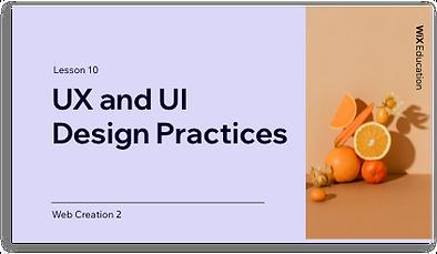 UX and UI  Design Practices presentation