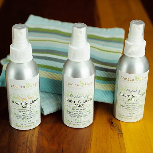 Set of 3 Natural Room & Linen Mists (Save 10+%)