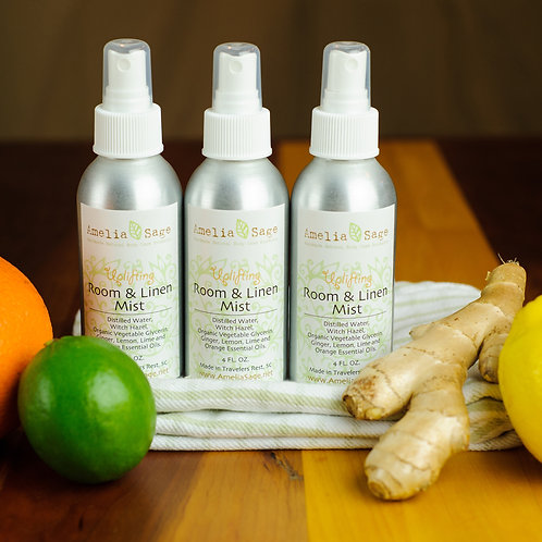 Uplifting Natural Room & Linen Mist