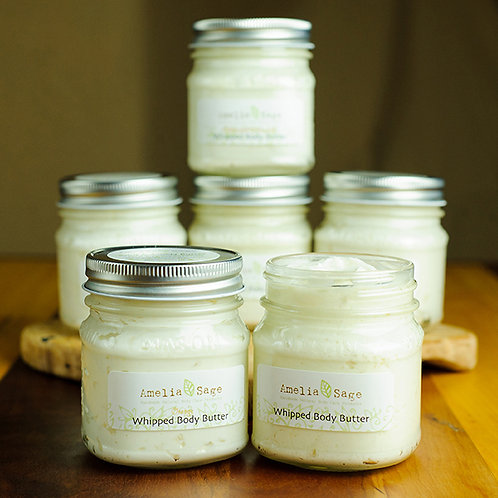 3 Whipped Body Butters (5 Scents Available)