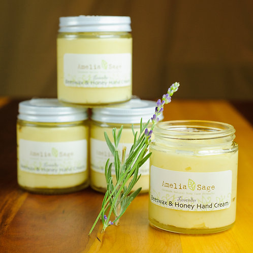 Beeswax & Honey Hand Cream (2 Scents Available)