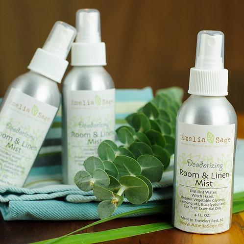 Deodorizing Natural Room & Linen Mist