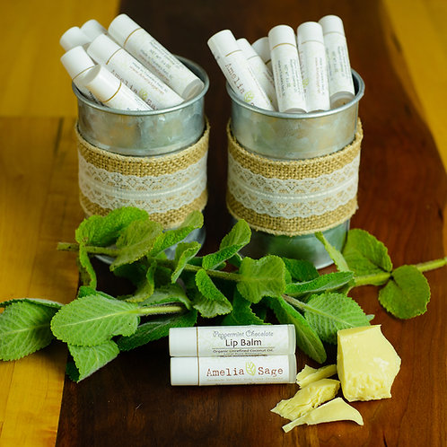 Natural Lip Balm (3 Flavors Available)