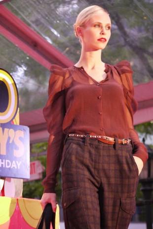 Daffy's 50th Birthday Fashion Show. NYC