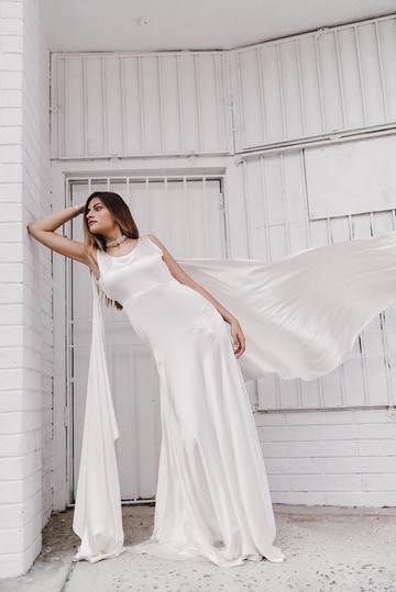 Bridal Photoshoot for a&bé Bridal Shop. Wynwood, Miami