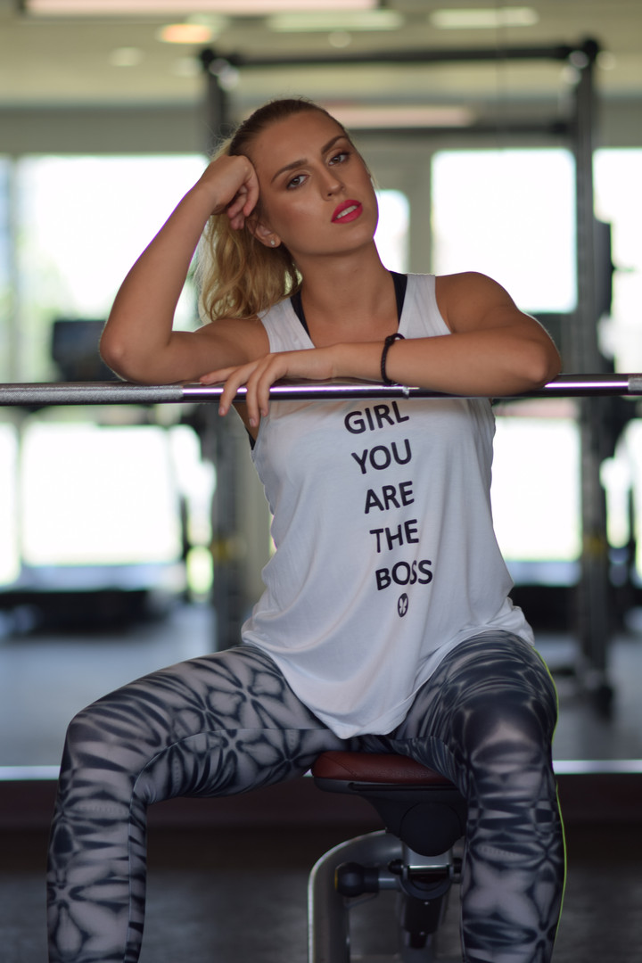 Hair & Makeup for Etsy Boutique - Active Wear Collection. Miami, FL