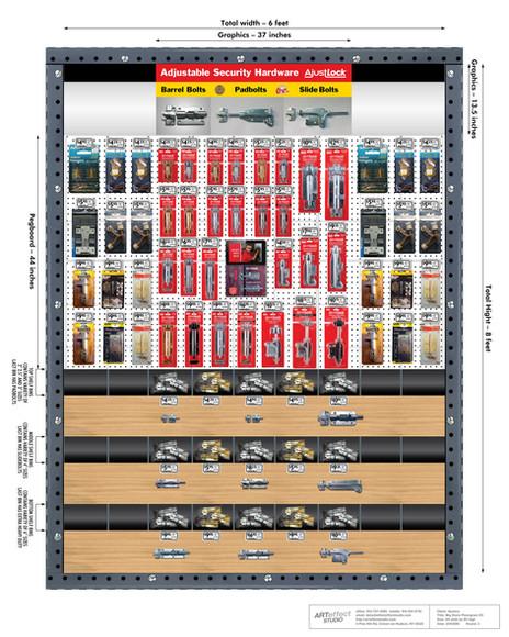 AjustLock Big Store Planogram