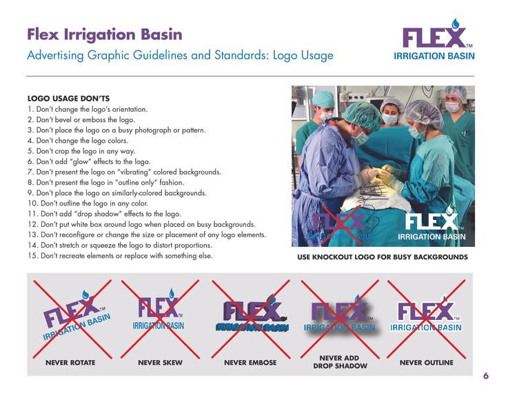Flex Corporate Identity - Logo Usage