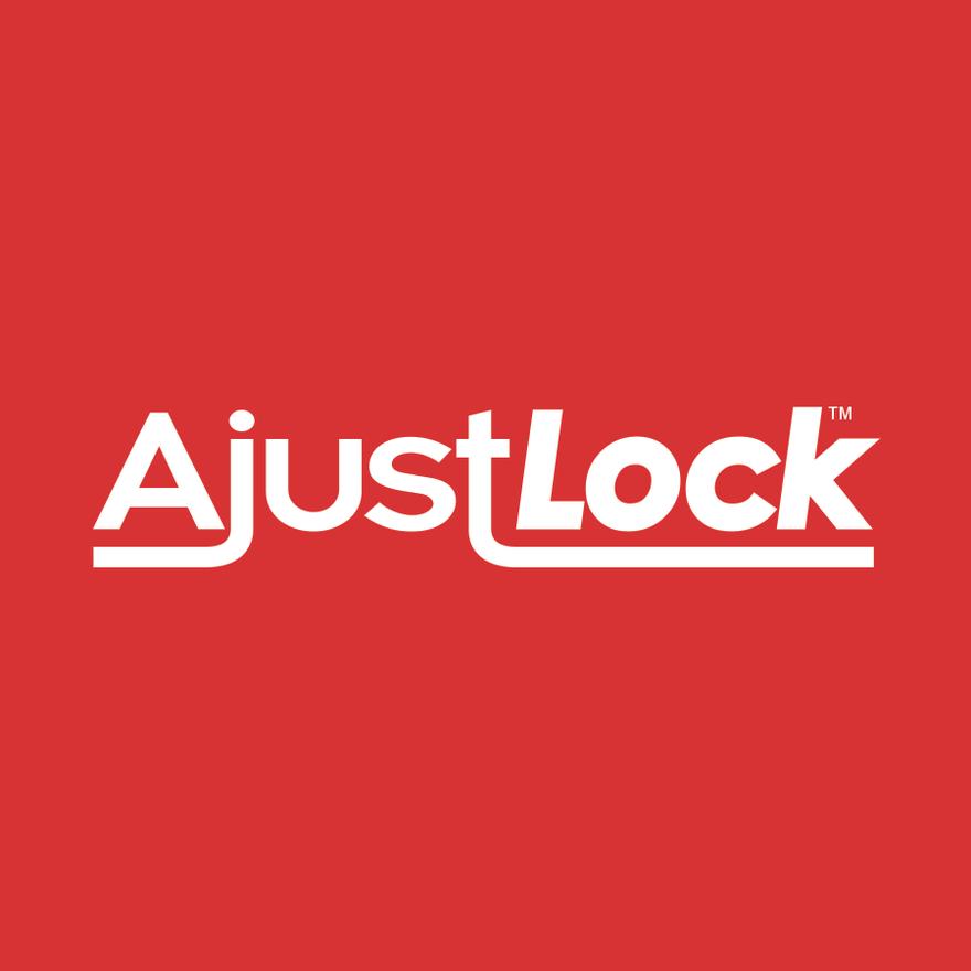 AjustLock Logo Design