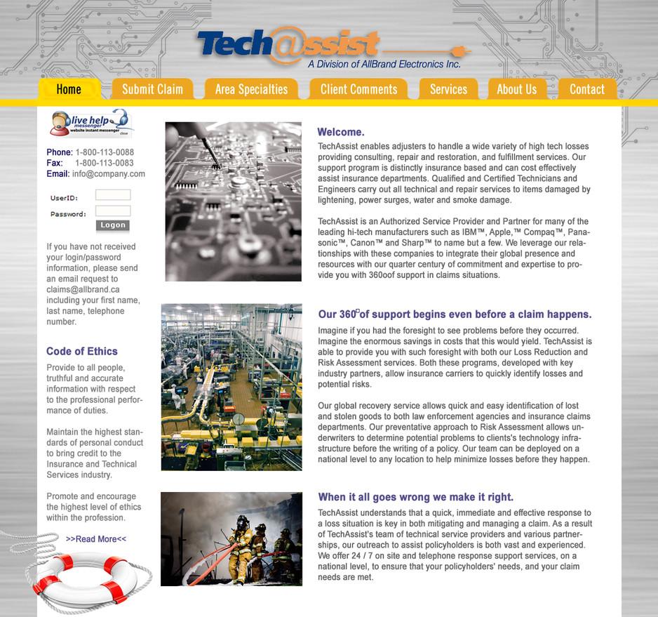 Tech@ssist Website