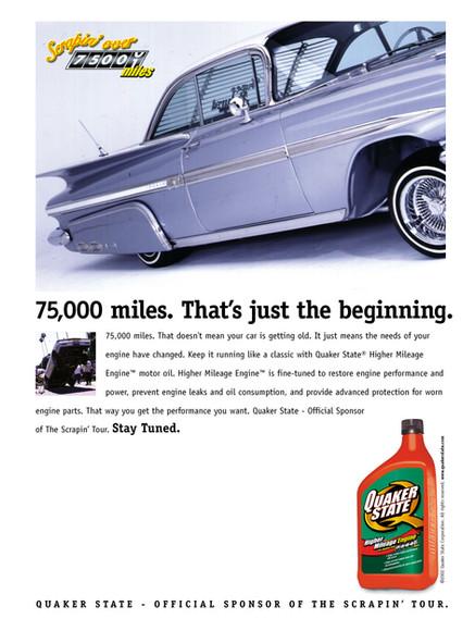 Quaker State Advertisement