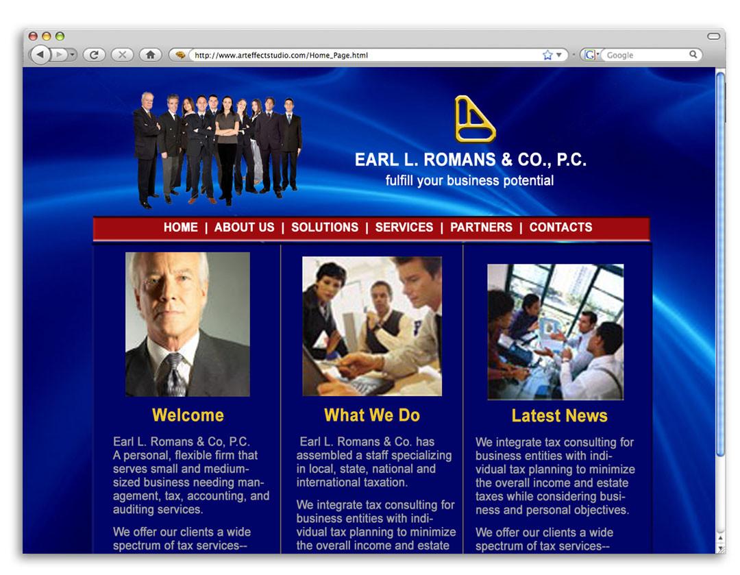 Earl L. Romans Website