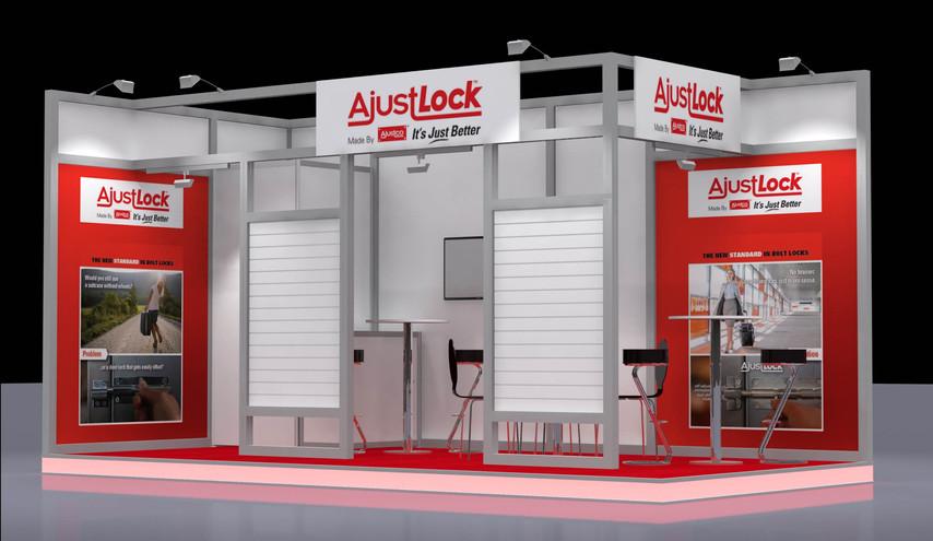 AjustLock Hardware Trade Show Cologne, Germany