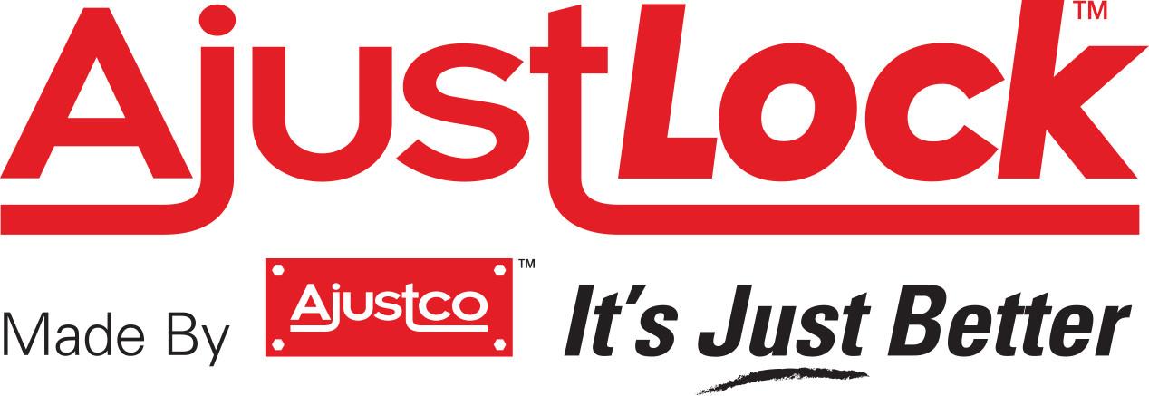 AjustLock Logo Design with Tagline