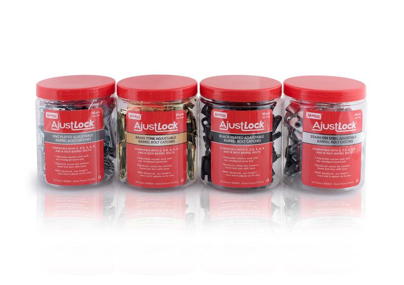 AjustLock Container Package Design