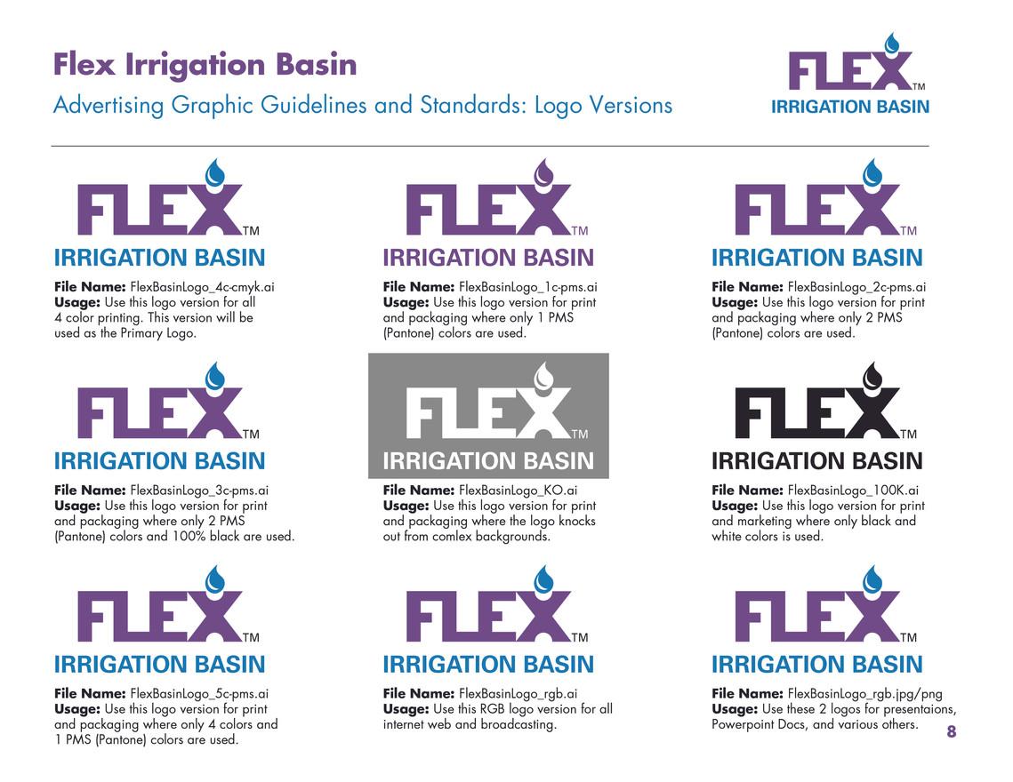 Flex Corporate Identity - Logo Versions