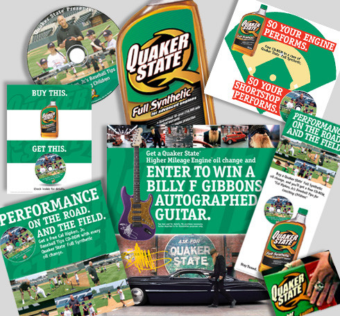 Quaker State Promotional Pieces