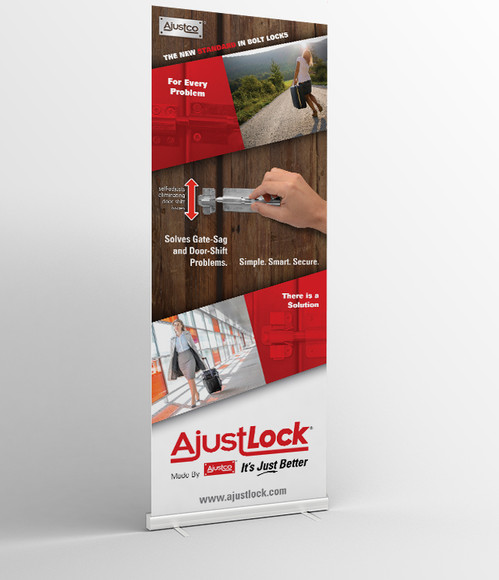 AjustLock Rollup Poster