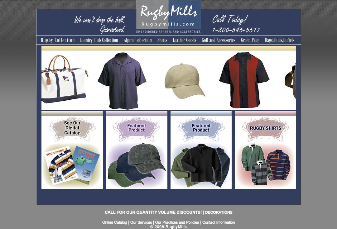 Rugby Mills Website