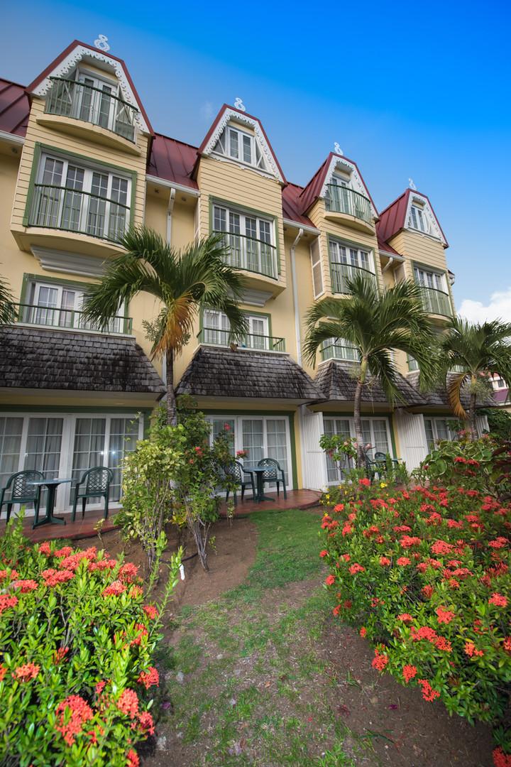 Real Estate Hotel Facade
