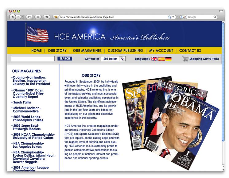 HCE America Website