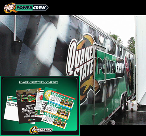 Quaker State Promotional Event