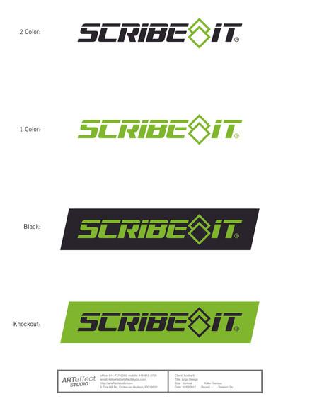 Scribe It Logo Development