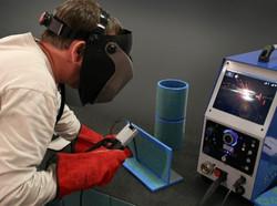 Virtuelles Schweissen Training