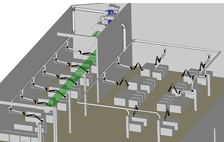 zentrale Filteranlage Filtercube mit Absaugarme.png