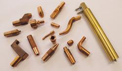 Kugelelelektroden_Elektrodenarm_Reduzierstücke_Sonderelektroden_Elektrodenkappenhalter