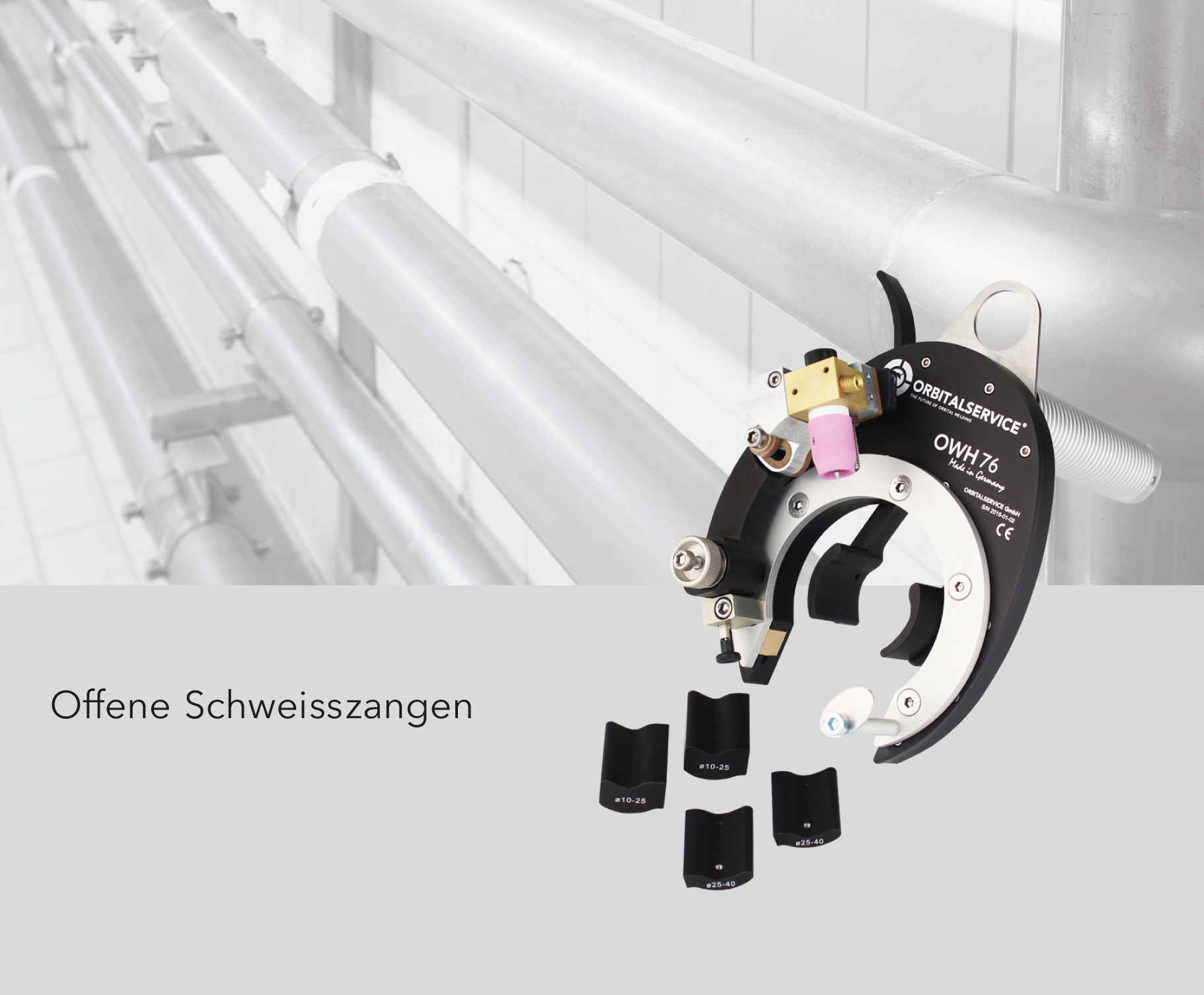 offene Schweisszange