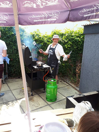 BBQ at The Guide Dog Charity Day