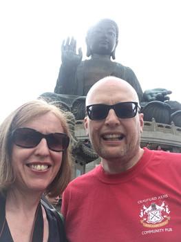 Beth and Oz in Hong Kong