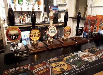 Beers at The Craufurd Arms