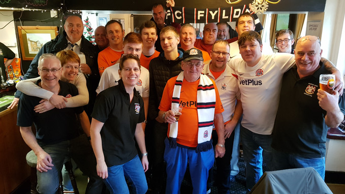 Fylde Independent Supporters' Club at The Craufurd Arms