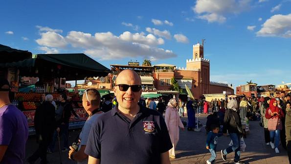 Oz in Marrakech